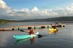 kayak et quai