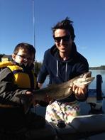 Expédition pêche : belle prise