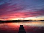 coucher de soleil Clo