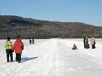 Lac Cabano gelé