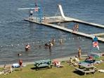 La plage de notre-Dame-du-Lac