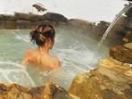 détente dans le spa