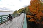 vélo en automne