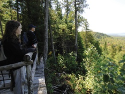National Trail in the Bas-Saint-Laurent
