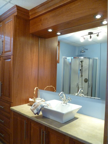 Chalet Laroche-second bathroom