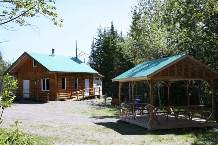 Eco-Site-wood cabin