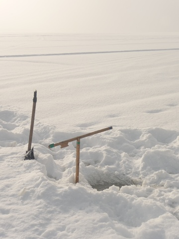 Éco-Site-ice fishing