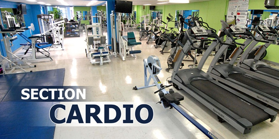 Gym Énergie-section cardio