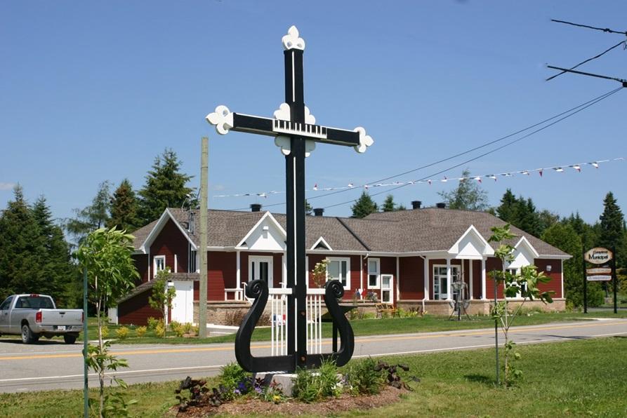 circuit des croix de chemin de saint athanase culture patrimoine et sites historiques. Black Bedroom Furniture Sets. Home Design Ideas